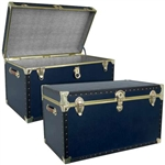 Mercury Luggage Academy Blue Trunk