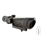 Trijicon ACOG 3.5x35 Scope, Dual Illuminated Green Donut .223 Ballistic Reticle AR15/M16, #TA11G