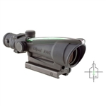 Trijicon ACOG 3.5x35 Scope, Dual Illuminated Green Crosshair .223 Ballistic Reticle AR15/M16, #TA11J-G