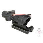 Trijicon ACOG 4x32 Scope with Red Horseshoe/Dot Reticle and M4 BDC w/ TA51 Mount, #TA31H