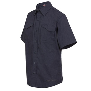 Tru-Spec XFIRE Station Wear Field Shirt, Navy, Short Sleeve